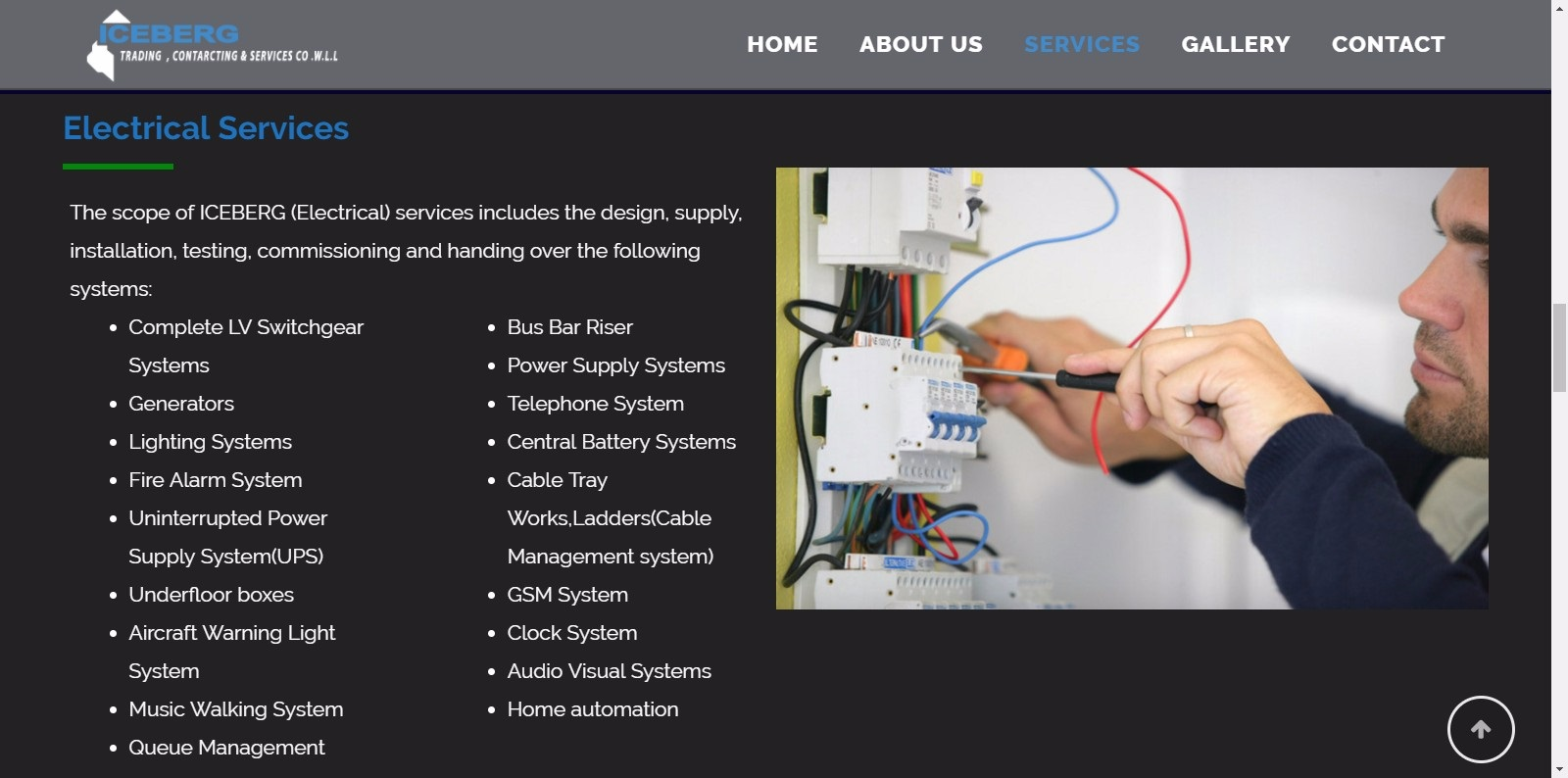 Web Design Archives Qatar It Solutions And Home Automation Wiring Iceberg Trading Contracting Services Co